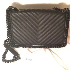 "Black Quilted ""Chanel"" Style Purse"